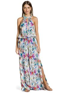 Printed jumpsuit with high neckline - MACACAO GAZENIA