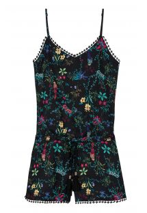 Summer playsuit with floral print - EZRA