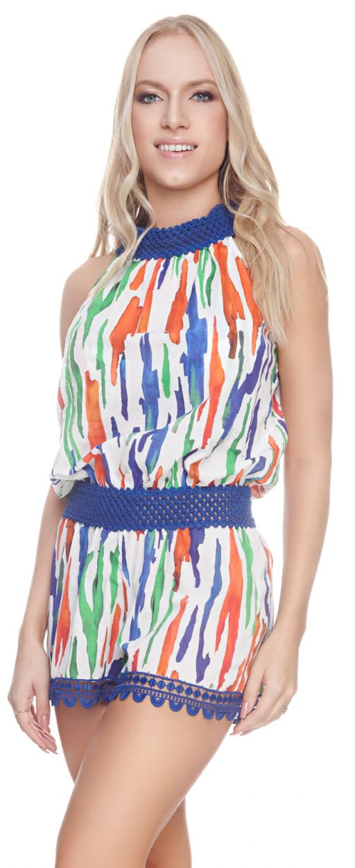 HAILEY ROMPER PAINTING