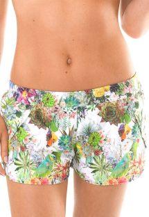 Short de plage floral tropical - GARDEN REMO