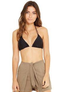 Khaki beach shorts - MALVINAS VERDE