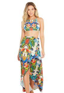 Tropical beach skirt - LILITH ESPLENDOR