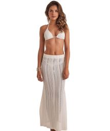 Long beach skirt with openwork - SKIRT RENDA
