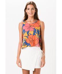 Whitewrap-style beach skirt - VESUVIO