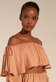 TOP CROPPED ATLANTICO - ROSA BLUSH