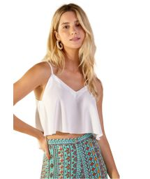 White light beach top - BLUSA NEW ALCINHA BRANCO