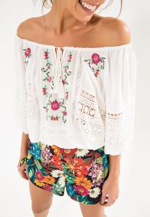 BLUSA CROSS STITCH TOP