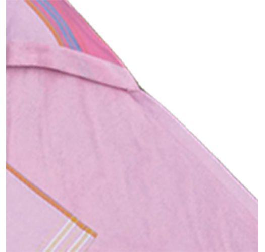 Asciugamano bimbi con cappuccio, rosa, 80x80cm - KIKOY BAMBINO NAPENDA