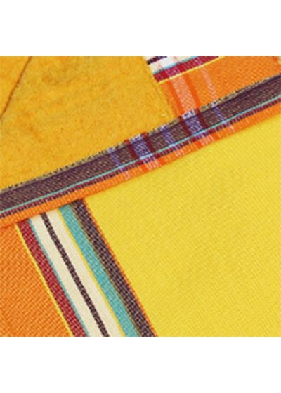 Vändbar, gul handduk / sarong - KIKOY IBIZA