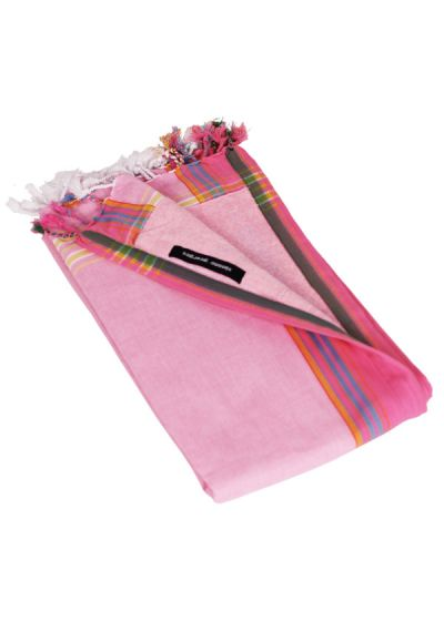 Rosa handduk / sarong för barn - KIKOY MINI NAPENDA