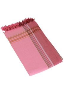 Reversible Pink Beach Towel/Pareo - KIKOY ROSA