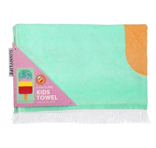 Kid's beach towel - ice pop - KIDS TOWEL ICE LOLLY