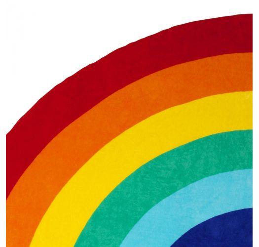 Rainbow shape beach towel - RAINBOW GROOVY