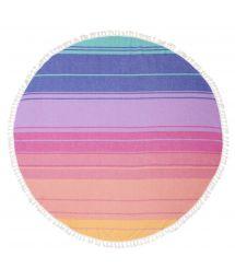 Round colorful strappy fouta - ROUND FOUTA NAVAGIO