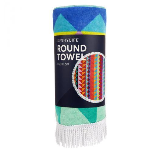 Colorful round beach towel - ROUND TOWEL HULULE