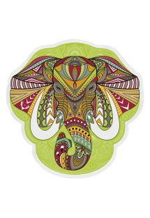 Elephant head-shaped beach towel - ELEFANTE