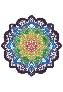 Fringed Mandala beach towel -MAGIC MANDALA