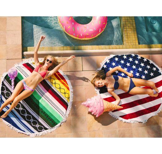 Парео, Плажни кърпи Знаме - SPIRIT COLOR