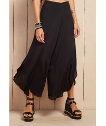 Black beach skirt/pants - CALÇA INDONESIA