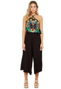 Black loose beach pants - CALÇA NARA PRETO