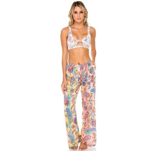 Loose colored beach pants - FLARE ALCAZAR