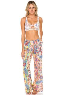Loose colored beach pants - FLARE ALCAZAR