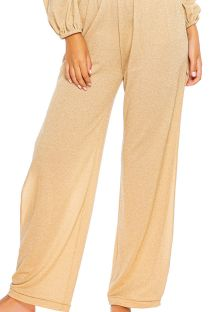 BOTTOM ALLURE CROP GOLDEN RUSH