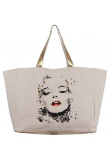 Bag - Marilyn Monroe by Ced Vernay  (gold) - CABAS JIM BY CED VERNAY GOLD