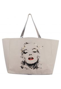 Bag - Marilyn Monroe by Ced Vernay  (silver) - CABAS JIM BY CED VERNAY SILVER