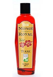 Fuktgivande kroppsolja med doft av tahitigardenia - SPF 7 - ROYAL MONOI TIARE SPF7 125ML