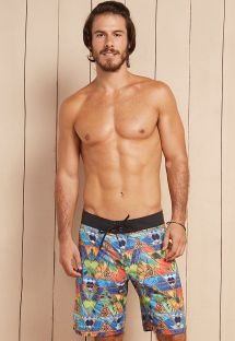 Long tropical print swimming shorts - SPORT NAGO