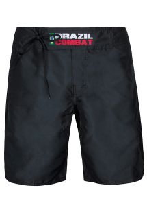 Black Brazil Combat shorts, velcro and tie