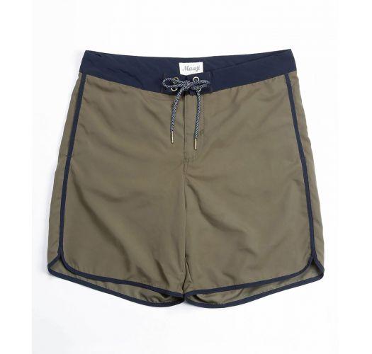 Men`s swimming shorts patterned pocket - ENDLESS SUMMER