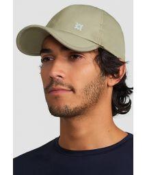 Adjustable beige men cap - SPF50 - BONÉ UVPRO AREIA - SOLAR PROTECTION UV.LINE