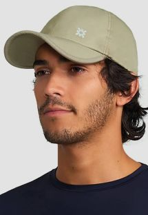 Adjustable beige men cap - SPF50 - BONÉ UVPRO AREIA - SOLAR PROTECTION UV.LINE
