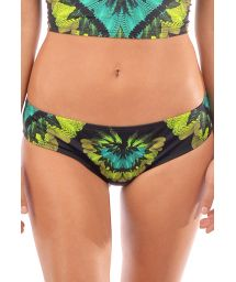 Tropical larger side bikini bottom - BOTTOM SELVA PRETO