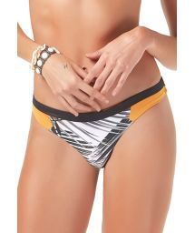 Tricolor sporty Brazilian bikini bottom - BOTTOM MAMBO