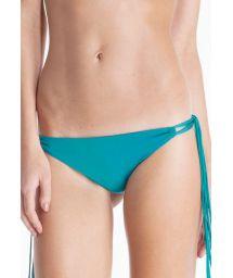 Green Brazilian bikini bottom, long fringing - CALCINHA SEAGULL