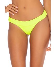 BOTTOM BANDED NEON YELLOW PURA CURIOSIDAD