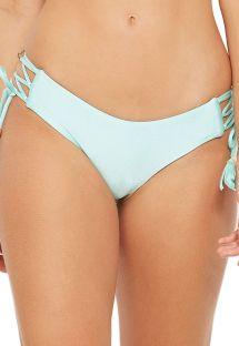 Light green side-laced bikini bottom - BOTTOM CAIRO VERDE FRAIS