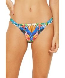 Tropical & colorful fixed bikini bottom - BOTTOM CARIBE ESPLENDOR