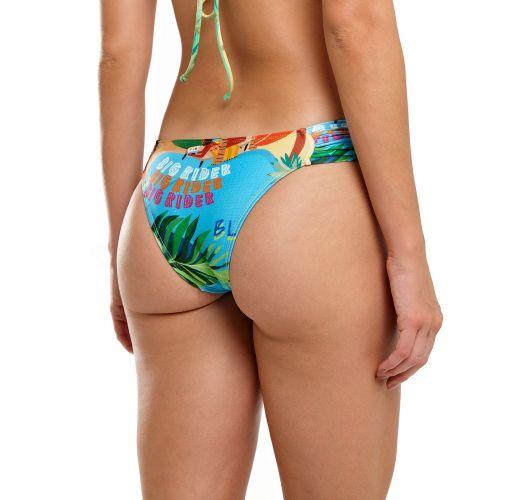 Tropical print hipster Brazilian bottom - BOTTOM CARIBE MARESIA