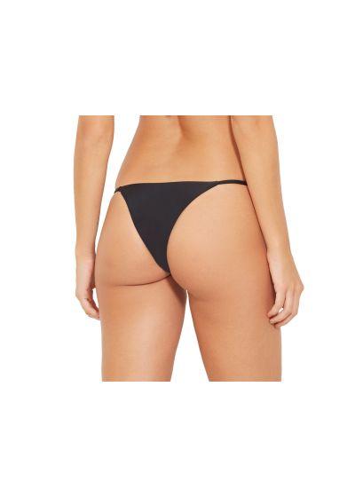 Нерегулируемые трусики бикини чёрного цвета- BOTTOM FOX PRETO