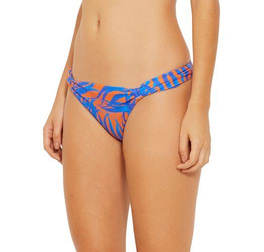 Blue and orange fixed bikini bottom - BOTTOM FUNK CAYENA