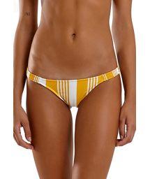 Yellow & white striped bikini bottom - BOTTOM LATINO NASCA