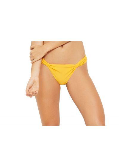 Нерегулируемые трусики бикини жёлтого цвета - BOTTOM MALDIVAS AMARELO SAFRAN