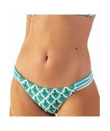 Mosaic printed Brazilian bikini bottom - BOTTOM POP ZAGORA