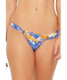 Blommönstrad bikinibyxa med accessoarer, vintagetryck - BOTTOM PRADO SOLAR