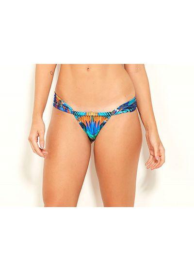 Brasiliansk flerfärgad bikini-stringbyxa - BOTTOM SUPER ARARUNA