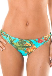 tropical swimsuit tanga with twist sides - CALCINHA MUSA PACIFICO